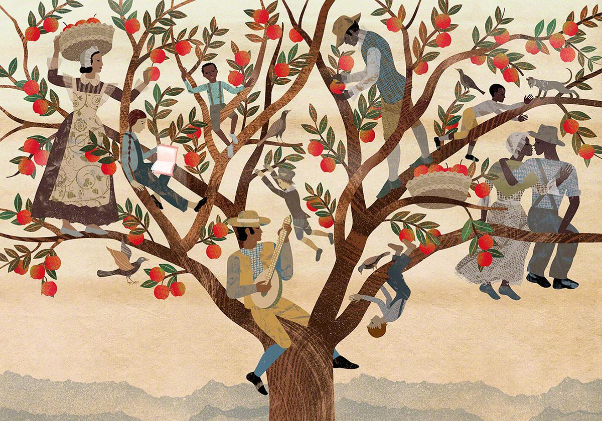 Adobe Portfolio annaelenabalbusso balbussotwins children childrenbook Love me+tree Nature picturebook Tree
