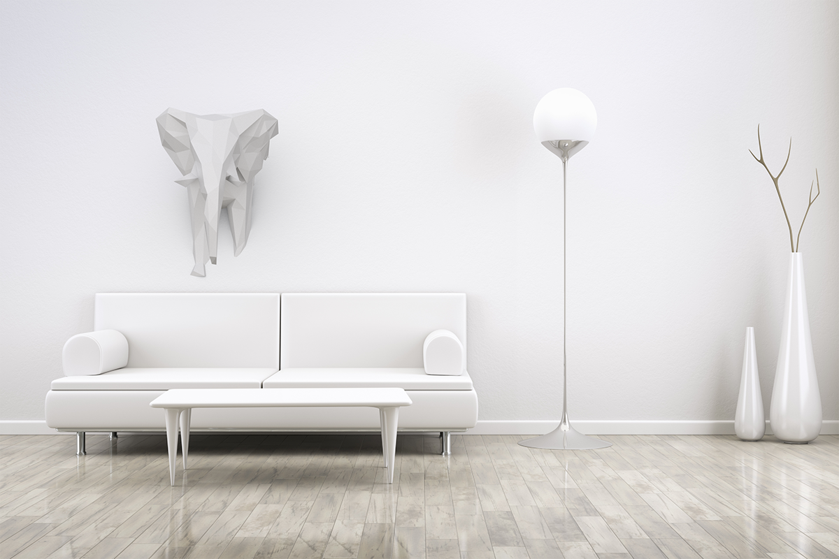 3D felix elephant Interior Spaces dimension