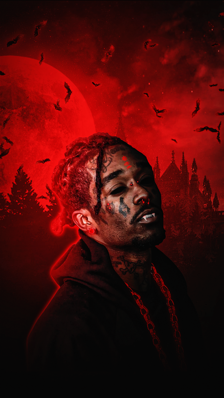 Lil Uzi Vert Vampire Iphone Wallpapers On Behance Equally viral sensations juice wrld and lil uzi vert team up in their latest grand theft auto referencing track. lil uzi vert vampire iphone