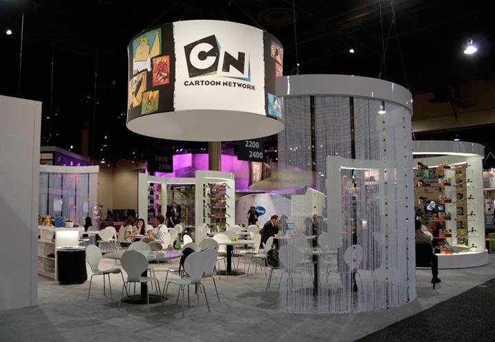 Cartoon Network Trade Show Booth