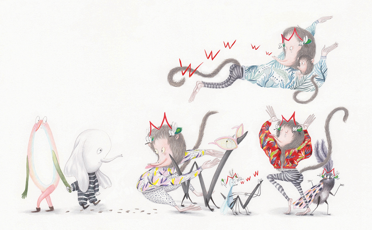 O poveste de Iubire ILLUSTRATION  VeroNeacsuillusration Veronica Neacsu childrenbooks