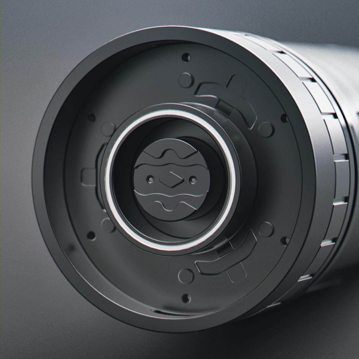 hard surface cad machine Sci Fi tech futuristic Render fusion