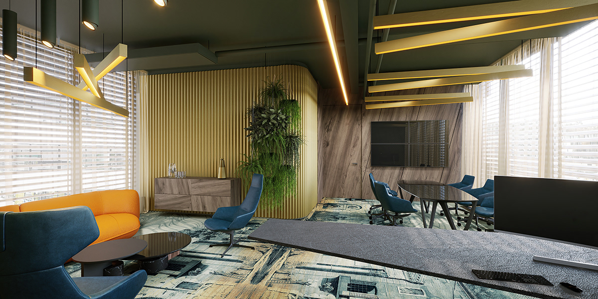 3D 3ds max architecture archviz CGI corona Interior Render visualization
