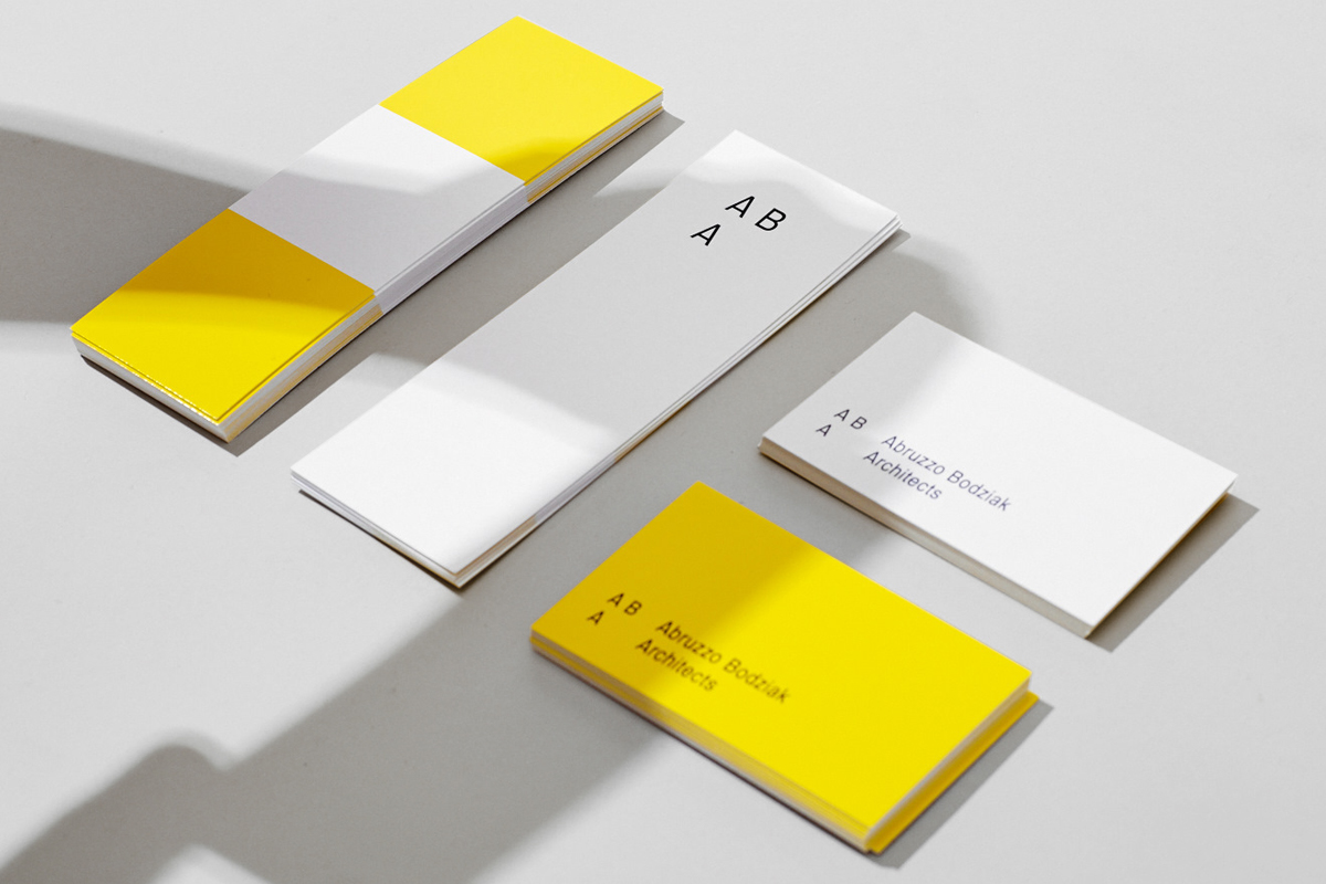 ABA Architects - Branding Material