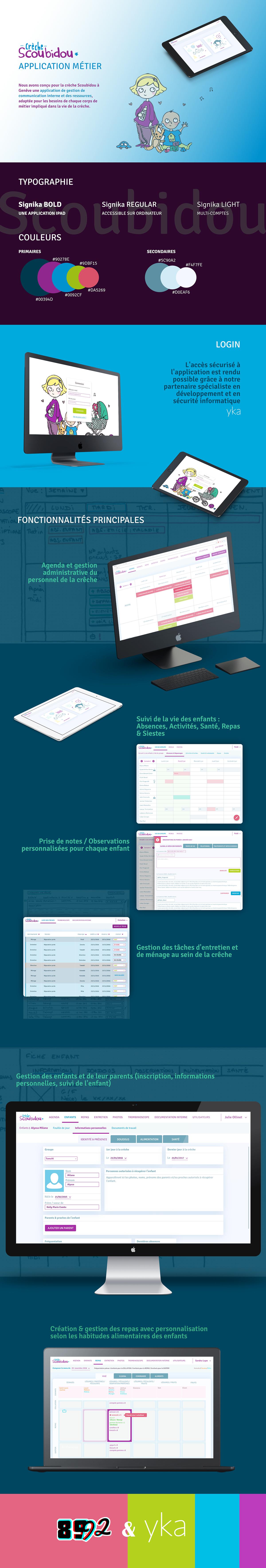 web app UI ux