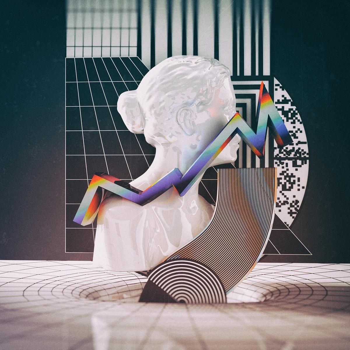 art creative artworks monthly 3dsmax FStorm design minimalist c4d cinema4d