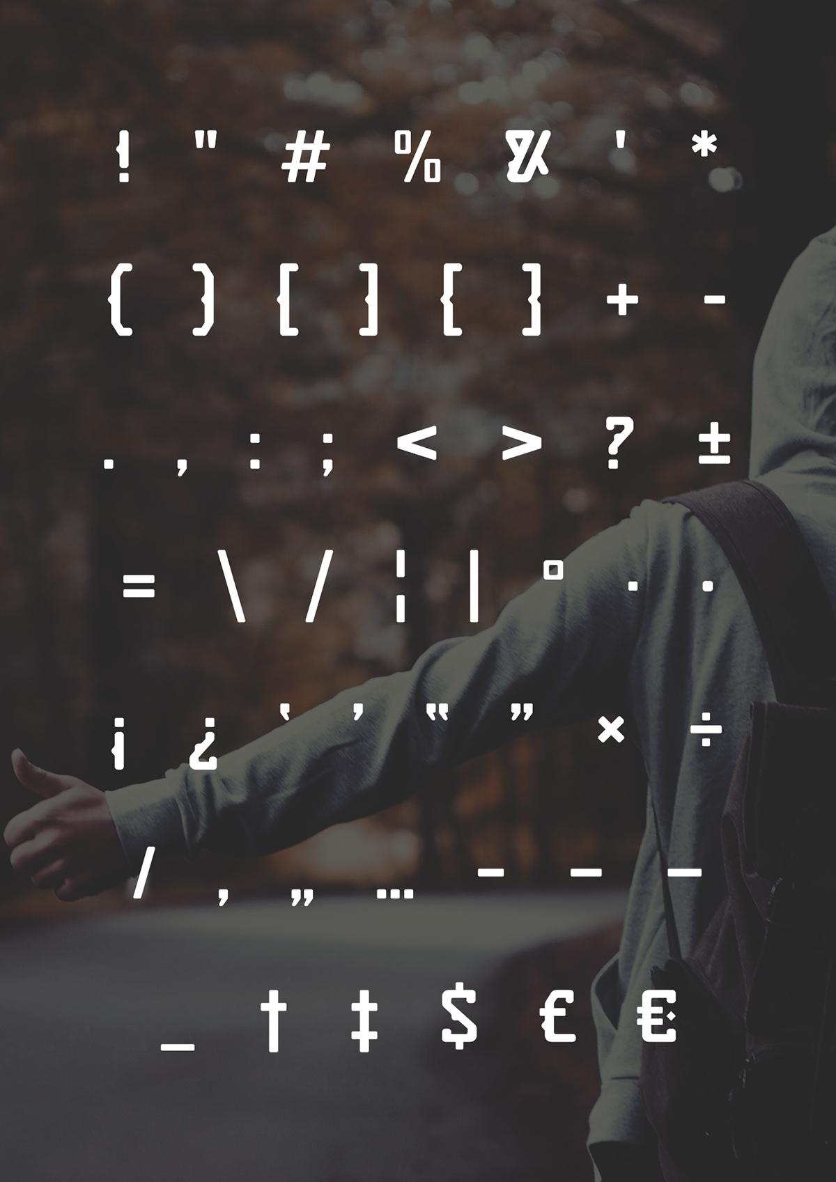 Quirko Typeface type design free font download Shrenik Adam