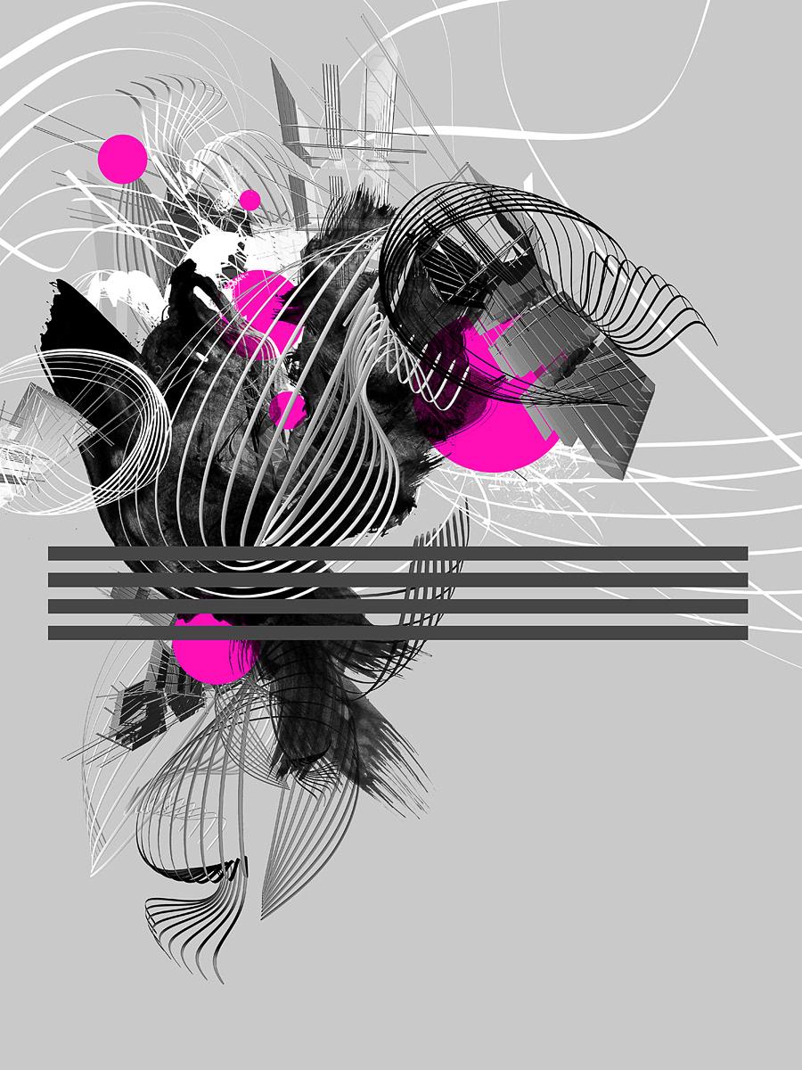 Digital Art  abstract colorful explosion monochrome creative photomanipulation