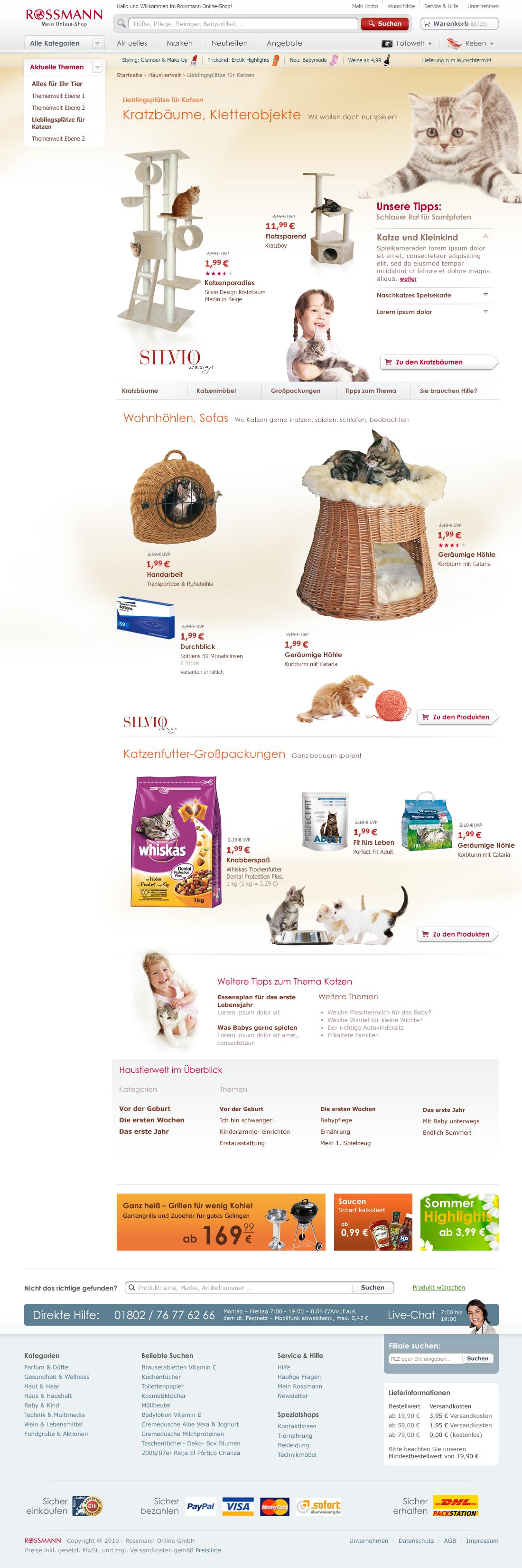 Rossmann online shop coupons
