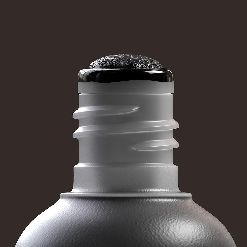 #krink digital Graffiti k60 modeling product rendering tag texturing