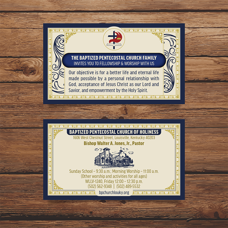 BRIAN HUFF - Business Card Collection