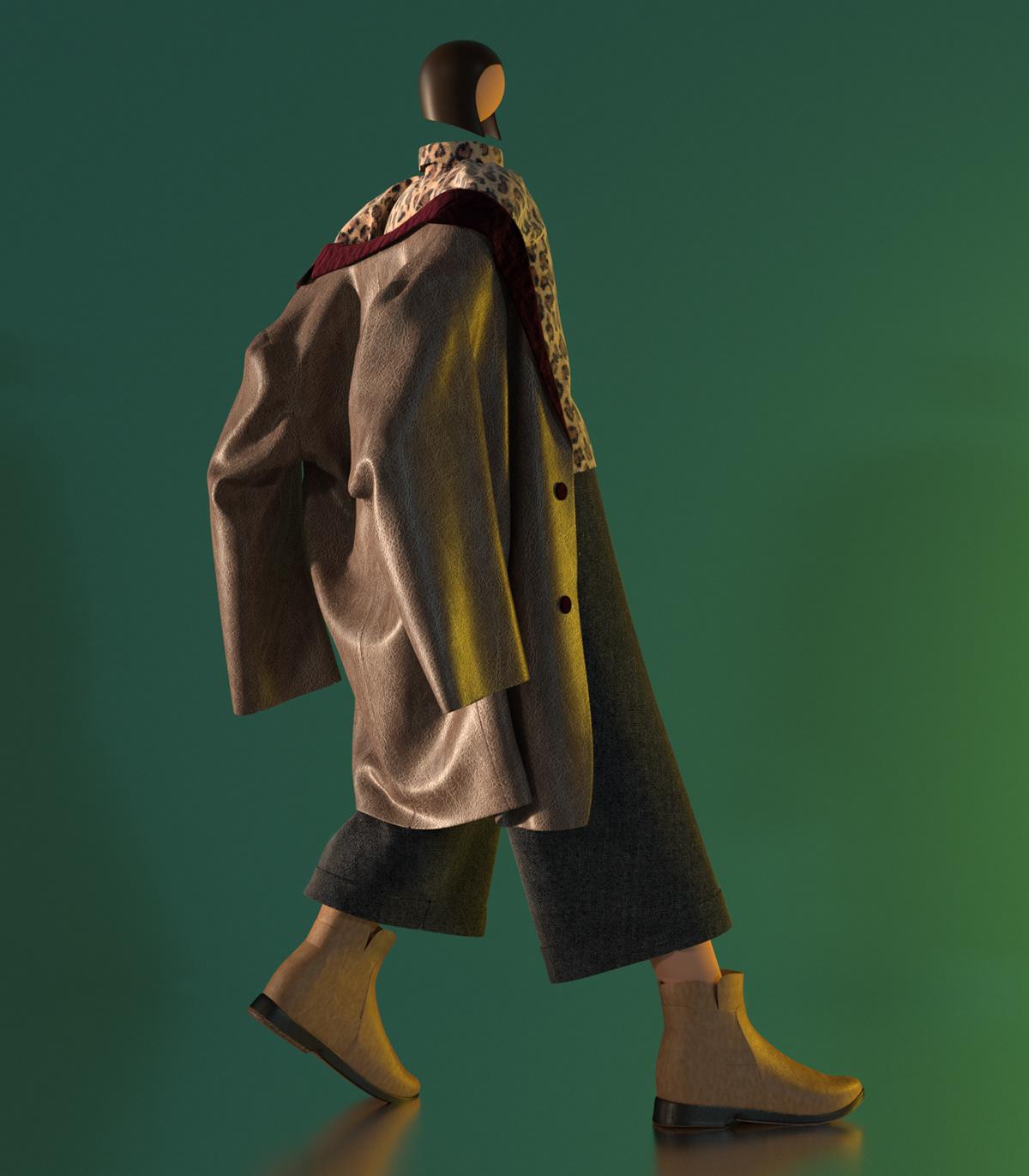 Image may contain: coat, handbag and outerwear