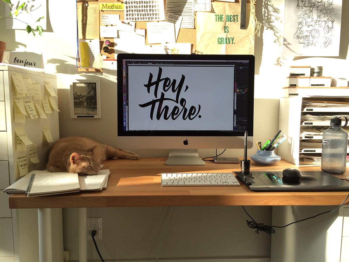 digitized hand lettering HAND LETTERING lettering Script