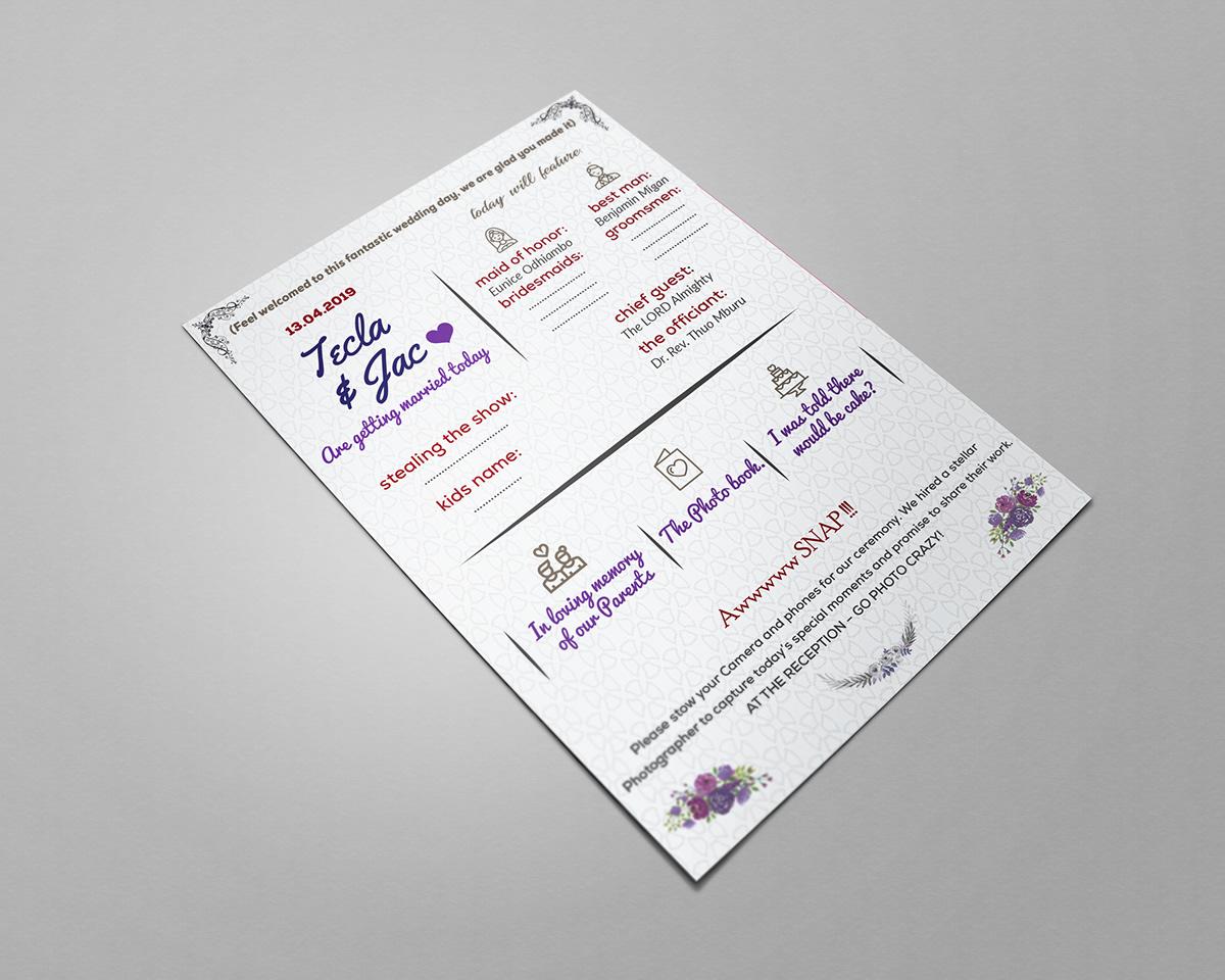 Invitation Card Design On Wacom Gallery