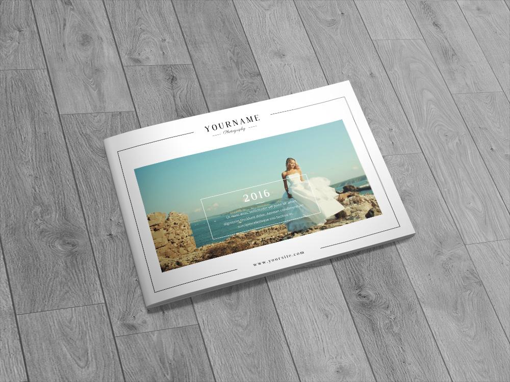 Wedding Photography Catalog Brochure A5 On Behance