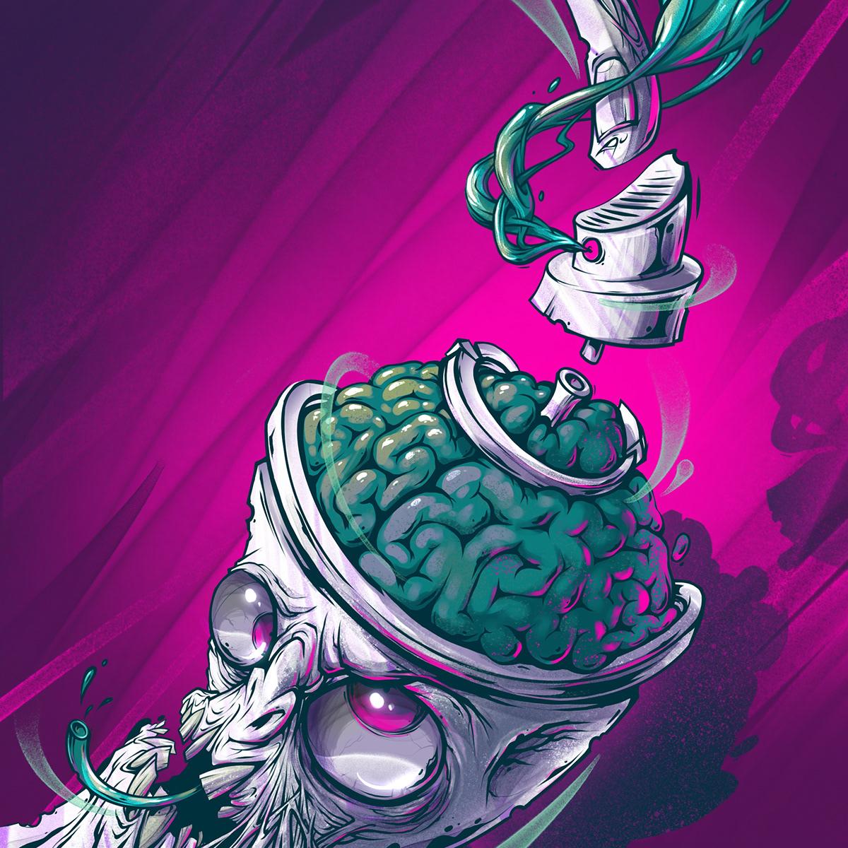 DigitalIllustration Procreate ipadart Character Graffiti
