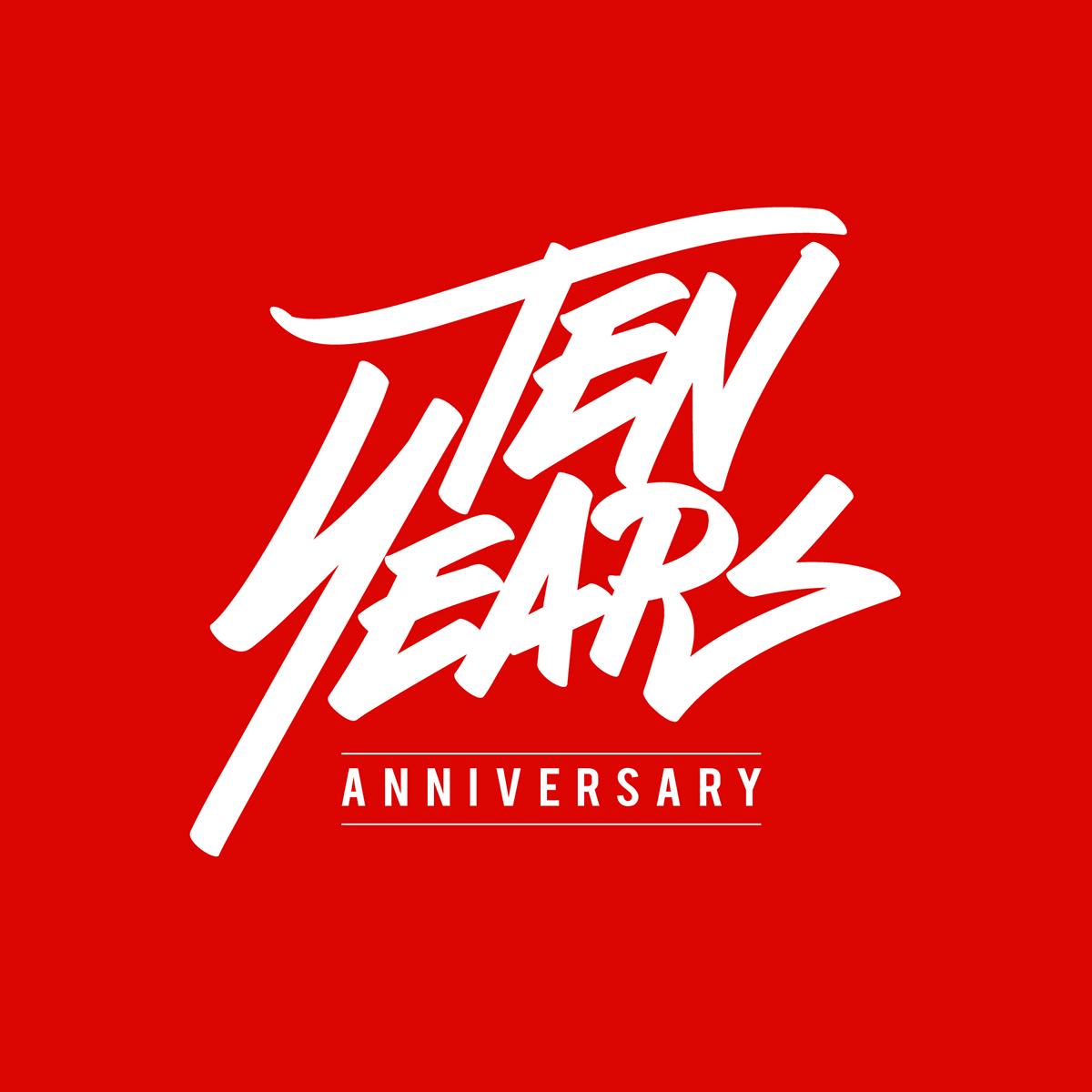 Ten Years Anniversary Unlmtd Struggle Logo On Behance