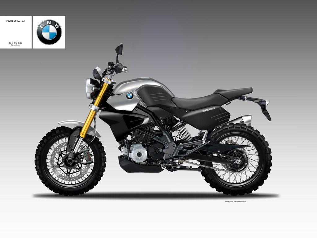 BMW G 310 SC SCRAMBLER on Behance