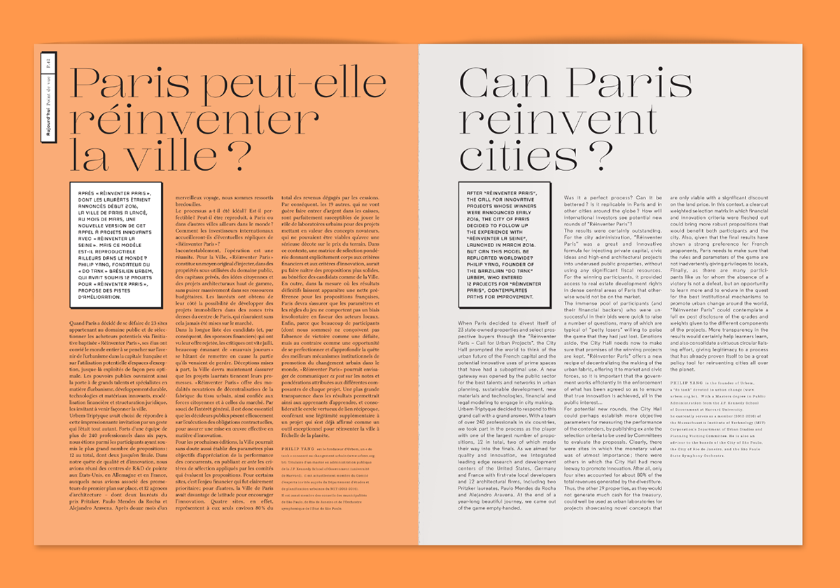 architecture,architecture d'aujourd'hui,type,typography  ,design,font,orange,Corbusier,AA,Violaine & Jeremy