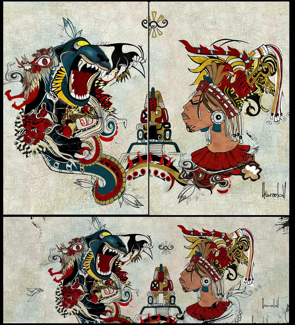 Maya Jaguar: Garra Jaguar -cosmovisión Maya