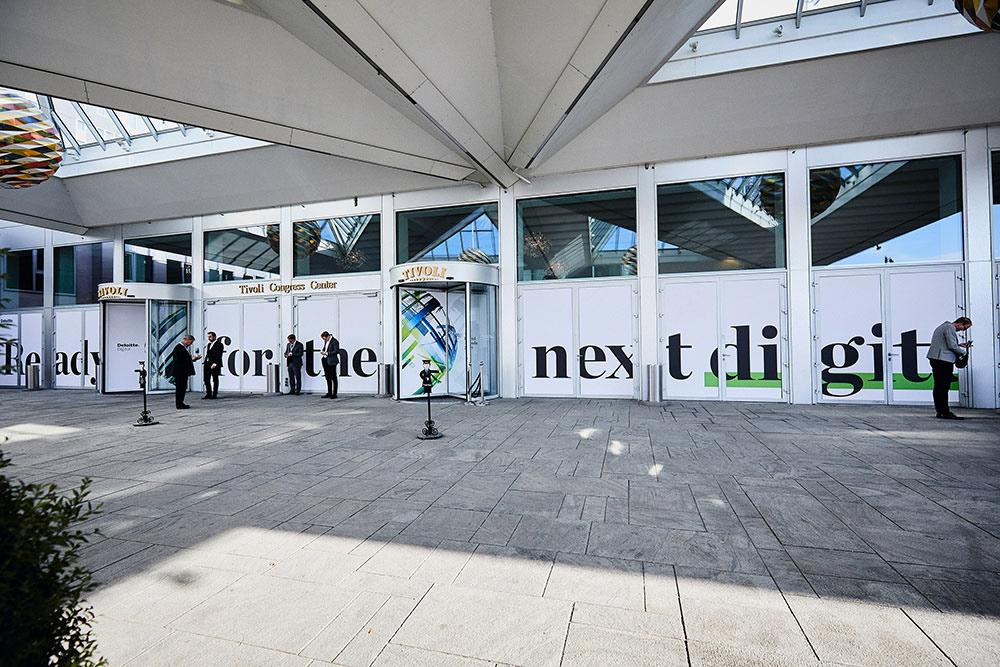 branding  concept conference digital Exhibition Design  print