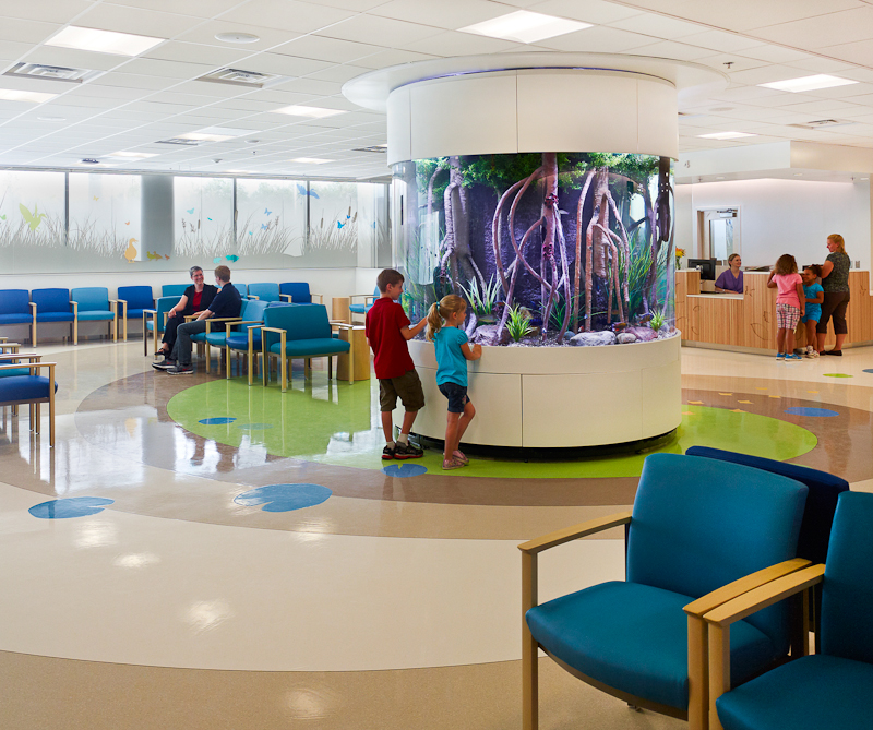 Nationwide Children's Hospital Interiors on Behance