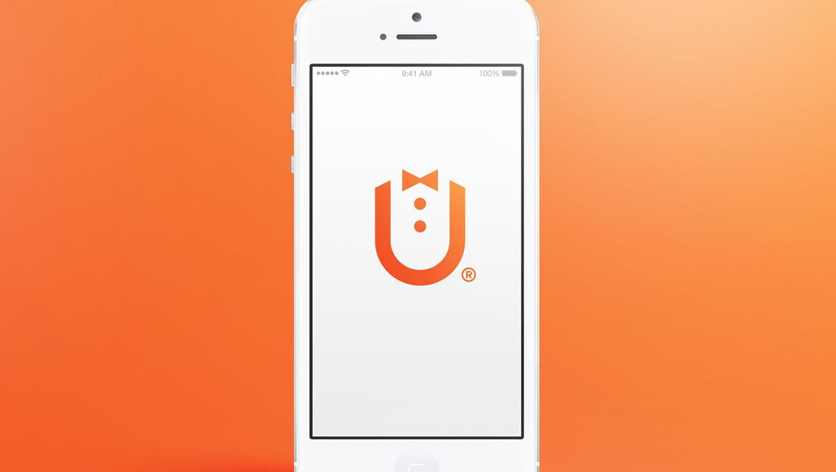 GuestU guest You logo design Icon symbol mark RadekBlaska Radek designer brand app mobile minimal