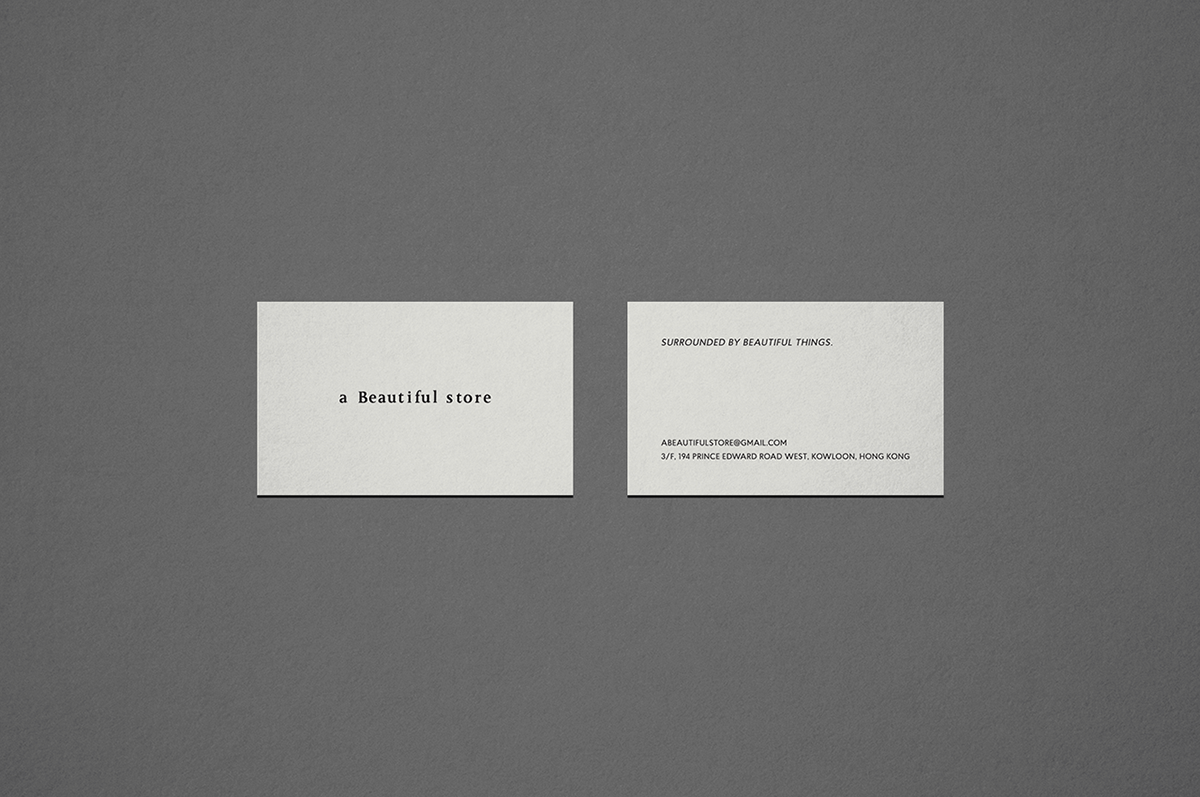 innoise jerry luk Hong Kong a beautiful store Logo Design identity Identity Design