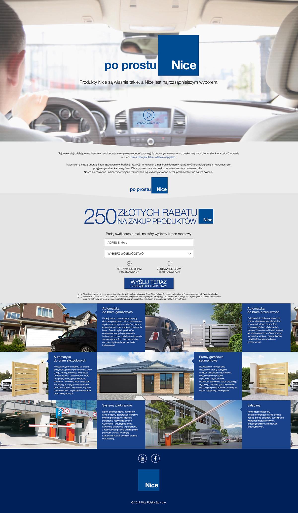 nice landing page banner Web Banner Sebastian Sokolowski poland AMP Media