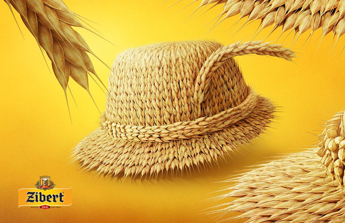 postproduction bigfishhouse CGI 3dmodeling creative ukraine beer Zibert design