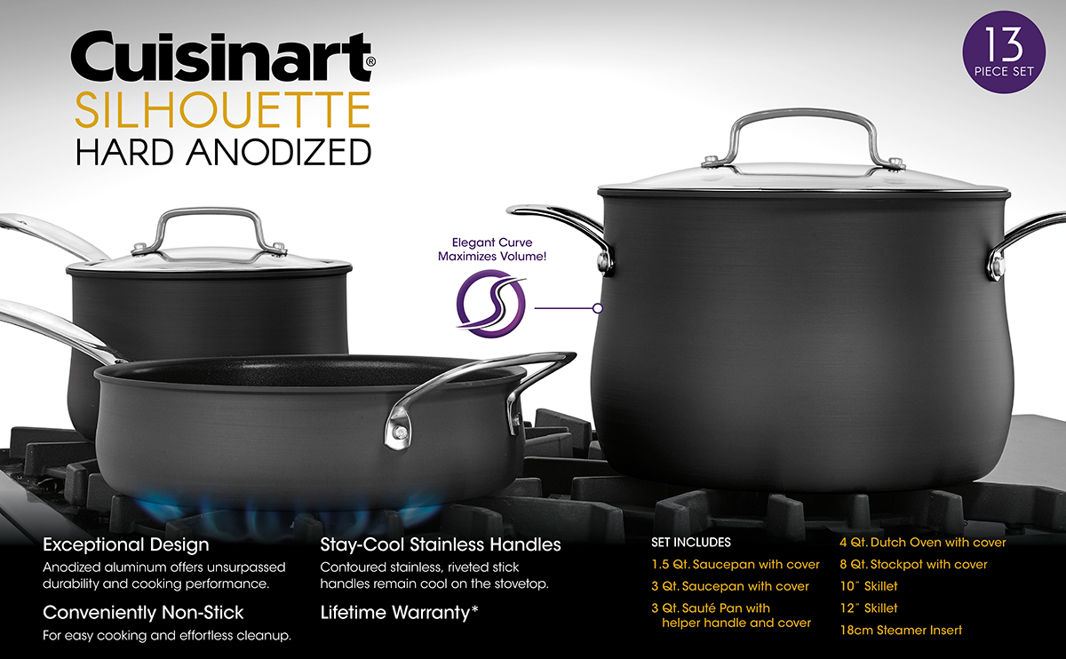 Cuisinart Silhouette Cookware Bed Bath And Beyond On Behance