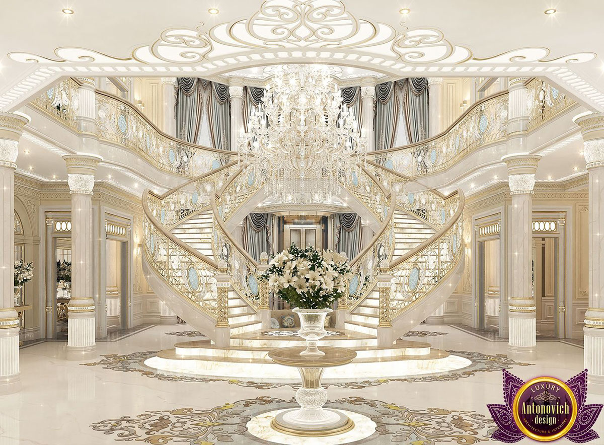 Delicieux Palace Interiors From Luxury Antonovich Design On Behance