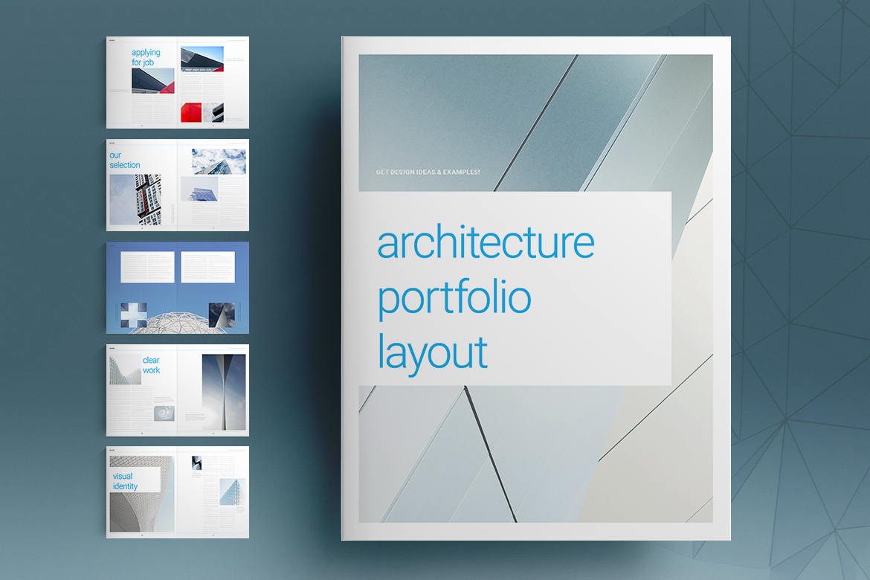 Architecture Portfolio Layout on Behance