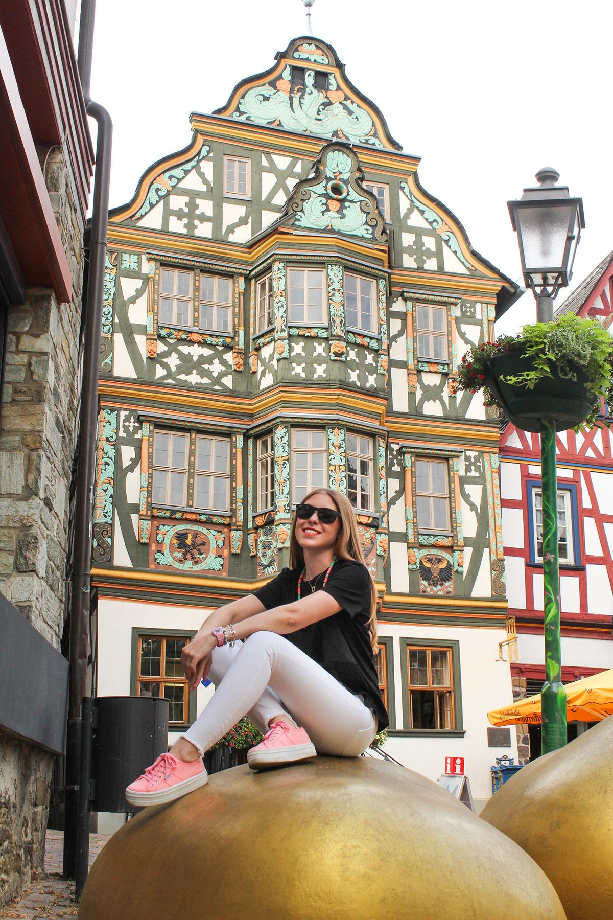 architecture art design Deutschland Fachwerkhaus germany graphic design  idstein ILLUSTRATION  photoshop