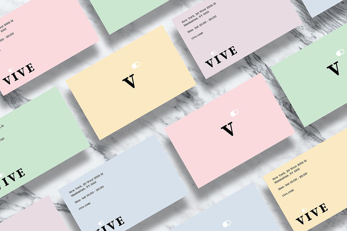 Adobe Portfolio brand identity logo vitamins pharmacy pastel corporate Illustrator typography   graphic design