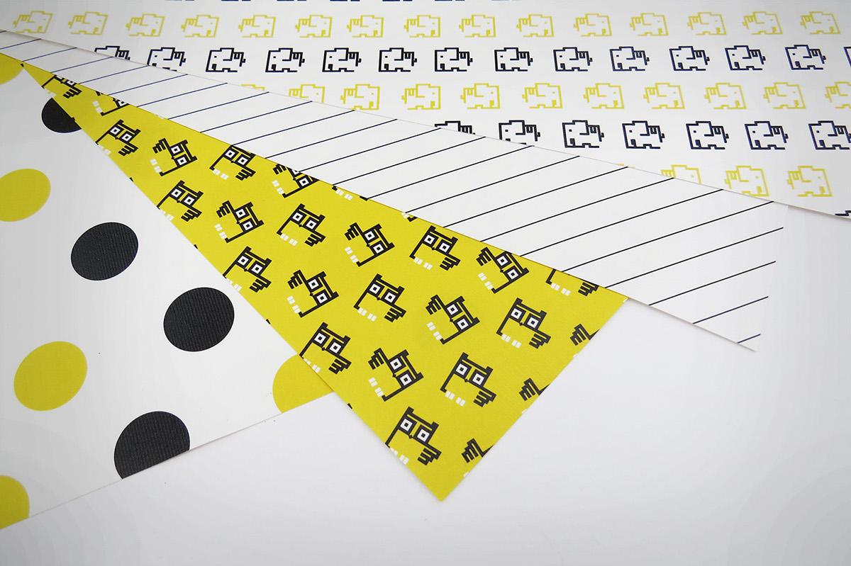 delivery service Packaging branding  student project Corporate Identity pikpakk pikkpakk METU
