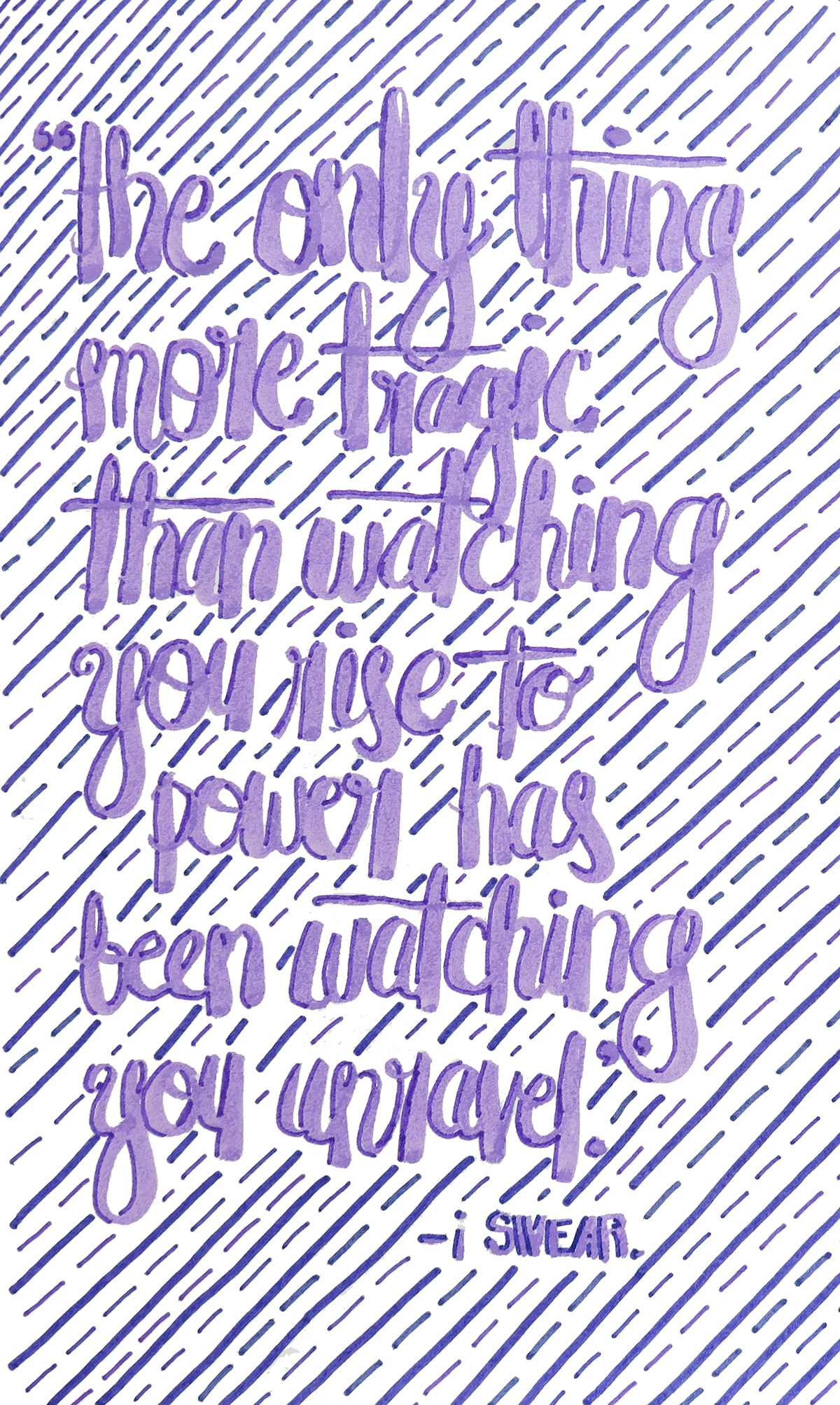 book quotes from i swear on behance, Home decor
