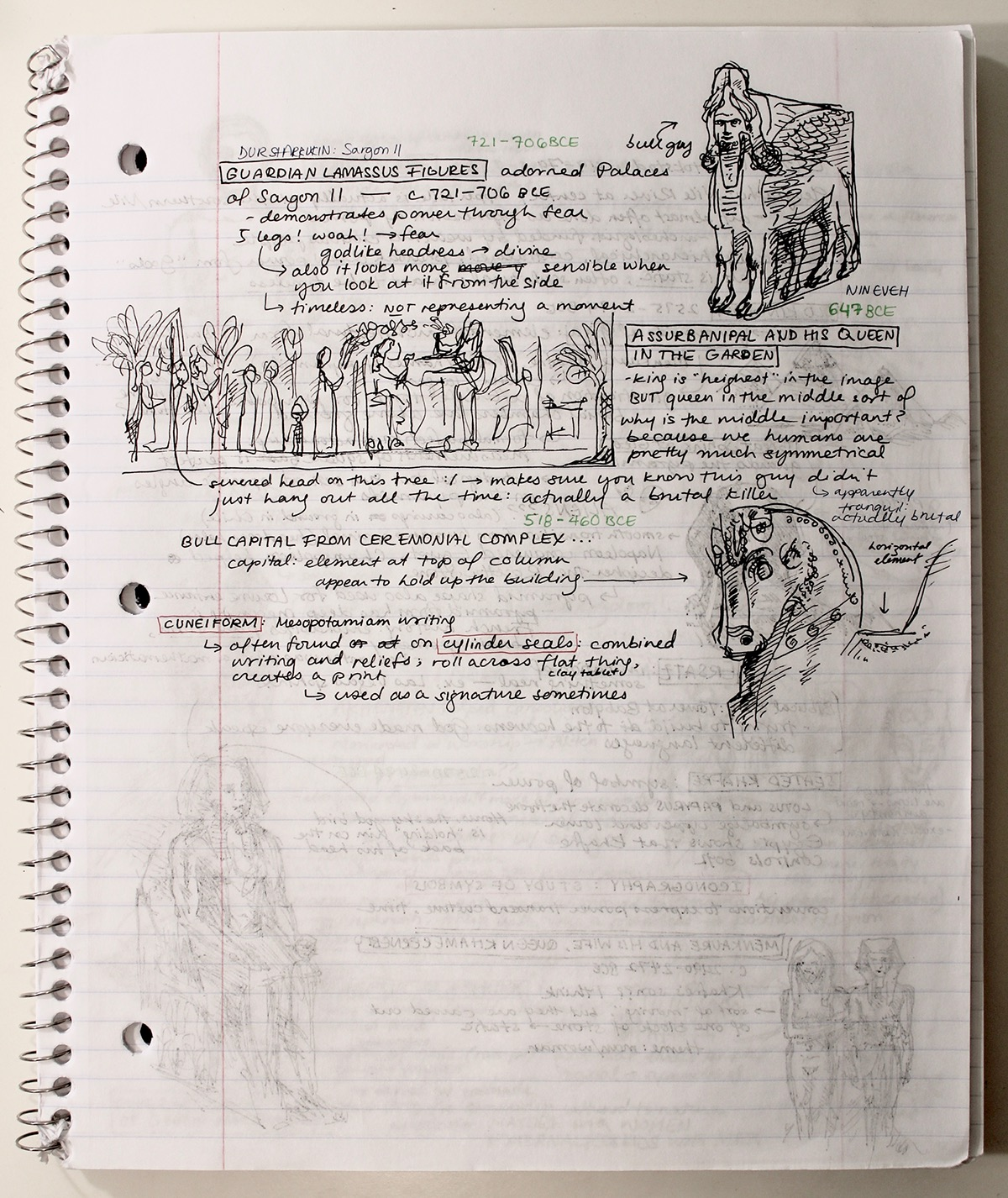 Art History Notes on Behance