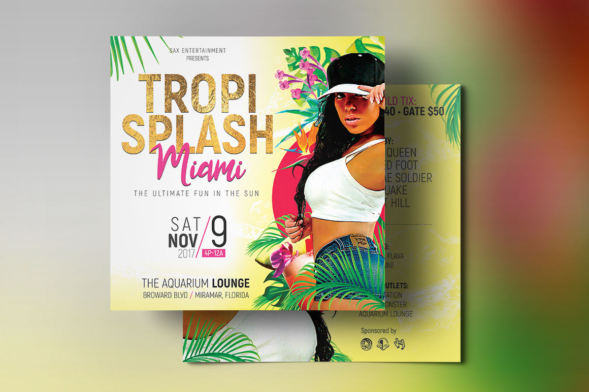 small flyer template free