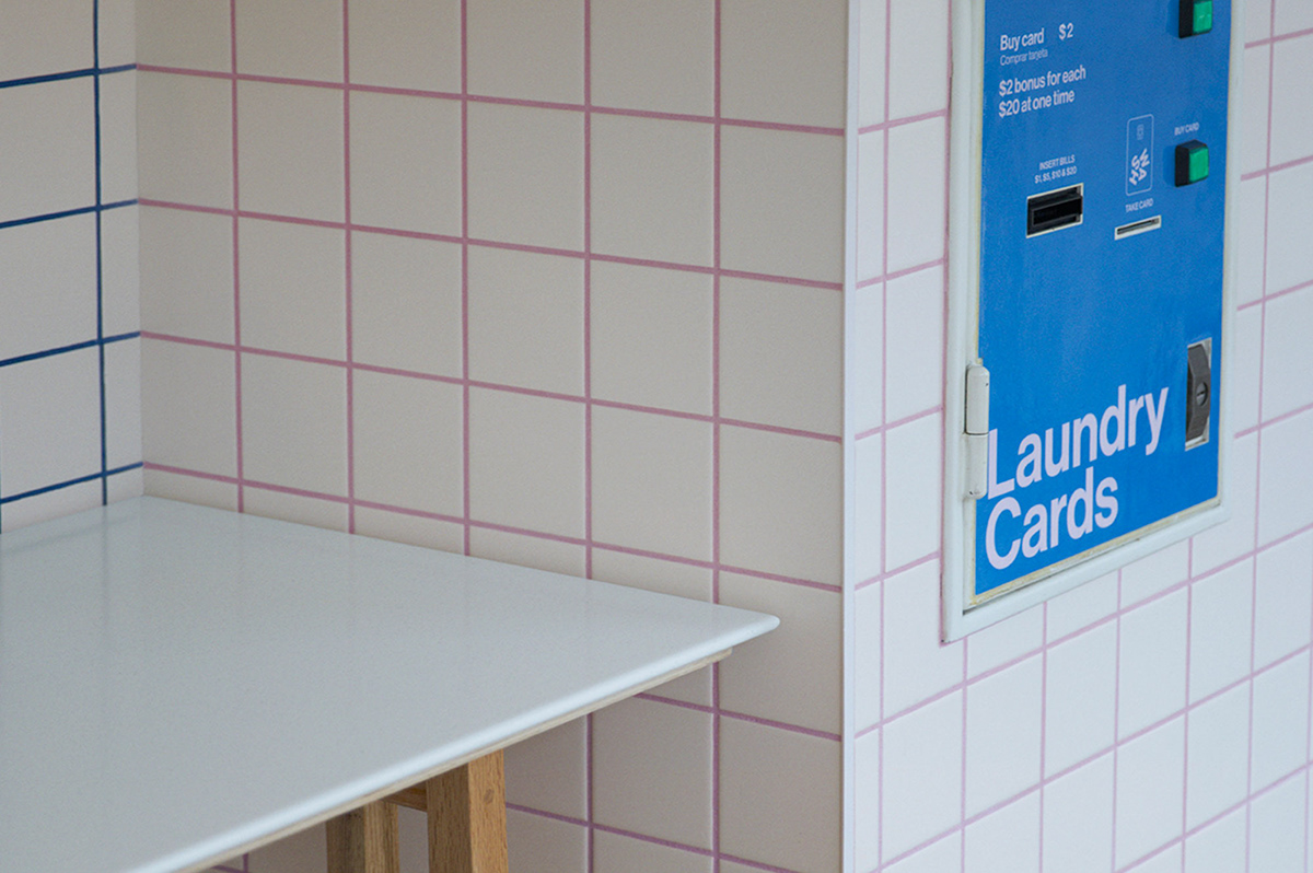 The Wash NYC Identity on Pantone Canvas Gallery