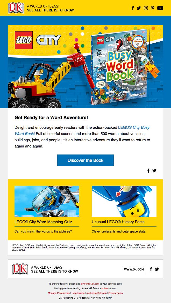 LEGO 2018 on Behance