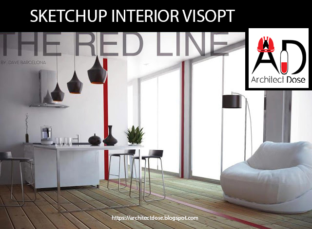 SKETCHUP EXTERIOR AND INTERIOR # VISOPT on Behance
