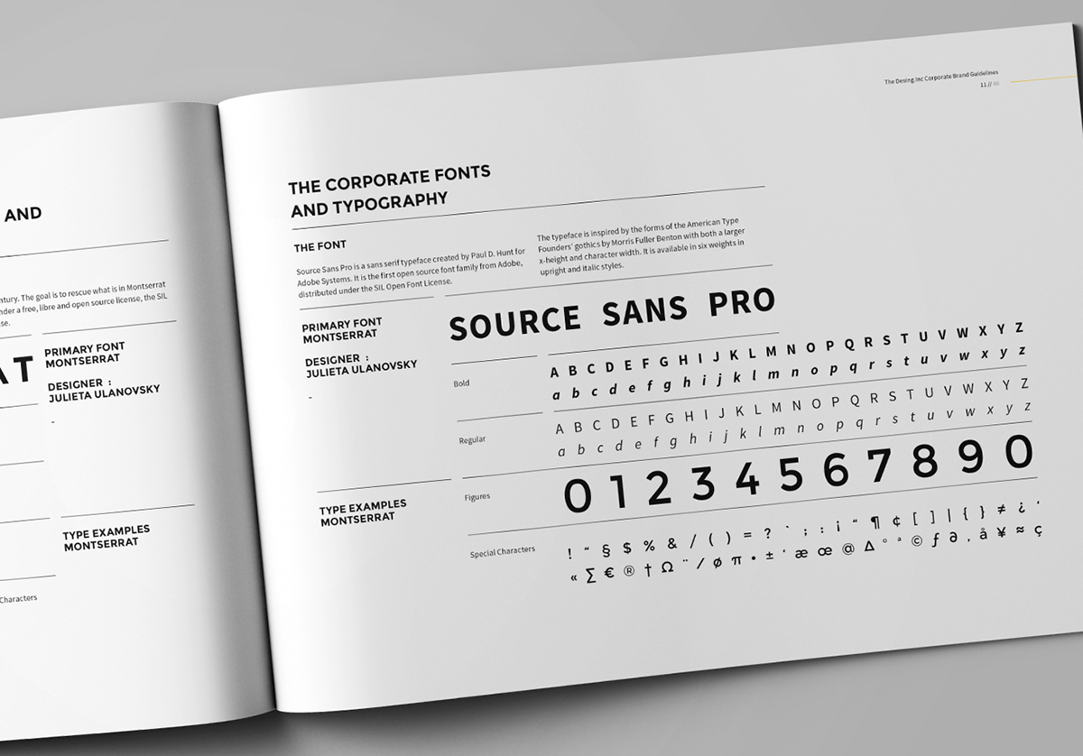 Brand Manual on Behance – It Manual Templates to Download