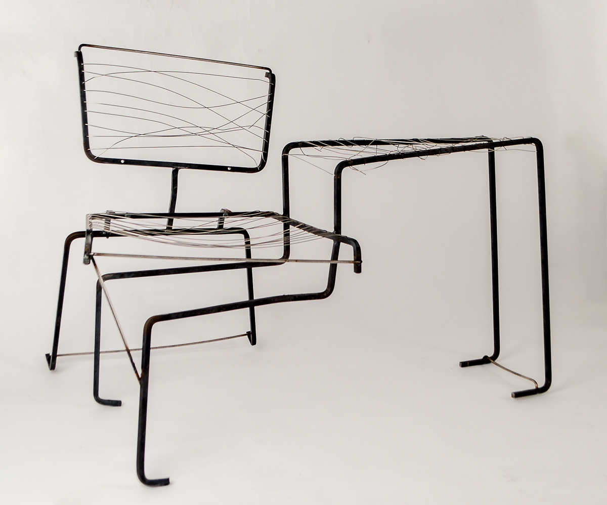 Wire Bench on RISD Portfolios
