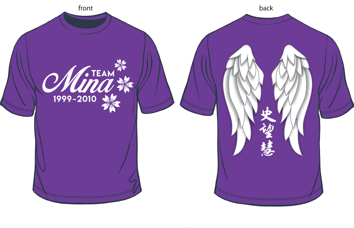 Light The Night Walk 2016 Team Mina T Shirt Design On Behance