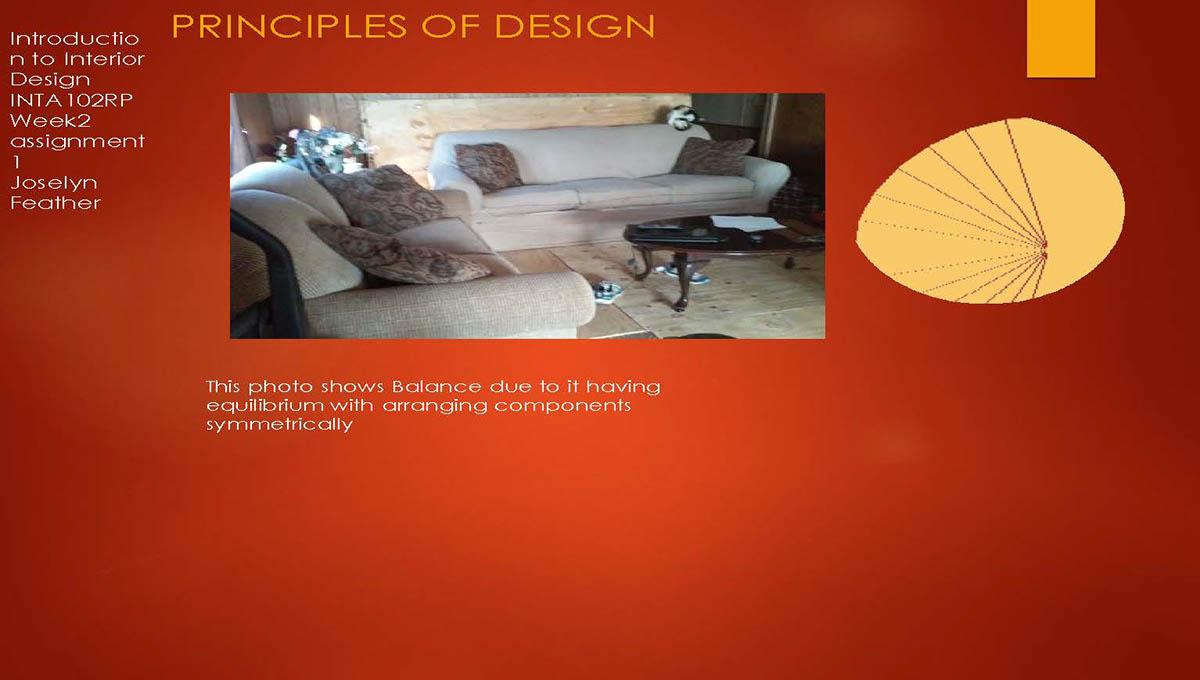 interior design assignment