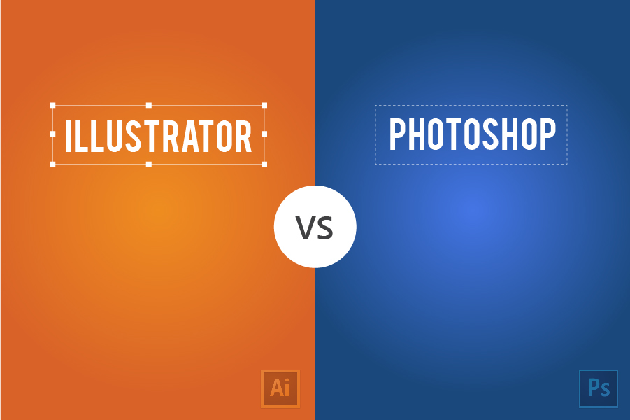 minimal,minimal poster,minimal illustration,Minimalistic Visualizations,minimalistic,compare,infographic,Photoshop vs Illustrator,chennai,M.A.kather,infography,India,inspire,visual design,UI
