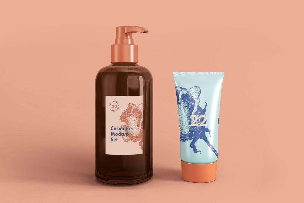 Mockup free Cosmetic