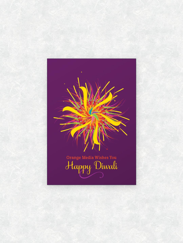 greeting Diwali ganesha new year