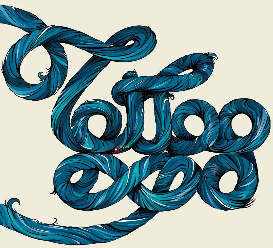 joe capobianco tattoo tattoo expo vector lettering